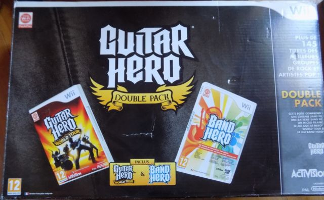 [Vds] Guitar Hero Double Pack complet Wii en boite neuf - 100 in Re7mm