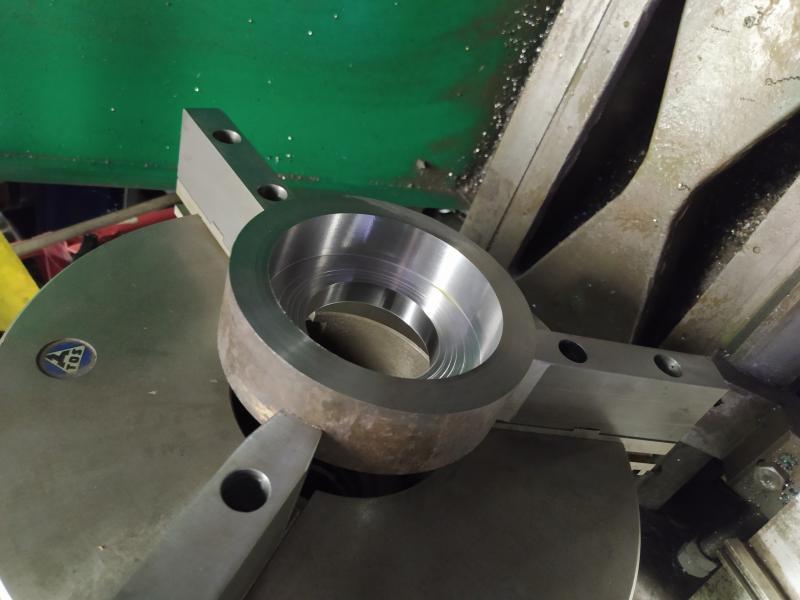 Installation d'un frein sur un tour qui n'en est pas equipé RnGqw