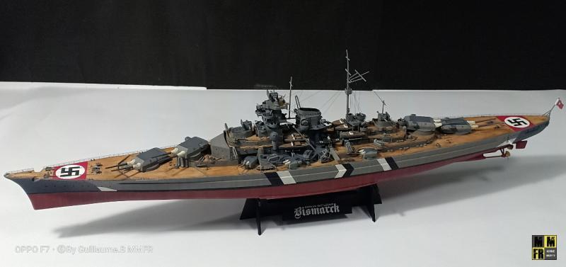 Tamiya Bismarck 1/350 par Guillaune.B ( montagemaquettefr) VWjqb