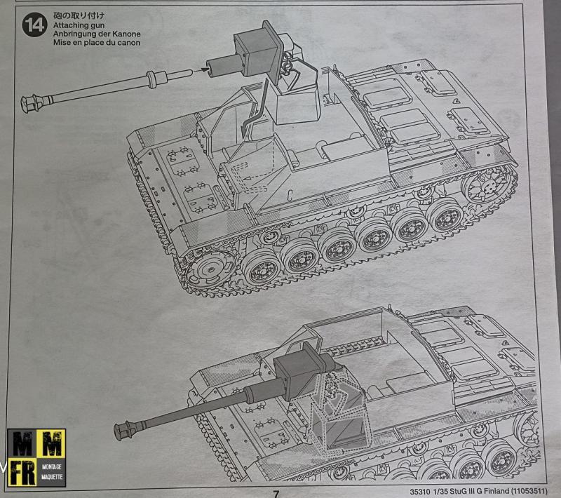 Tamiya Sturmgeschutz III - 1/35 VxNQb
