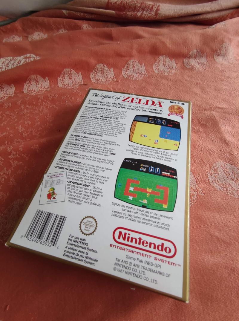 [Estim] Urgent !! Zelda NES classics W8beD