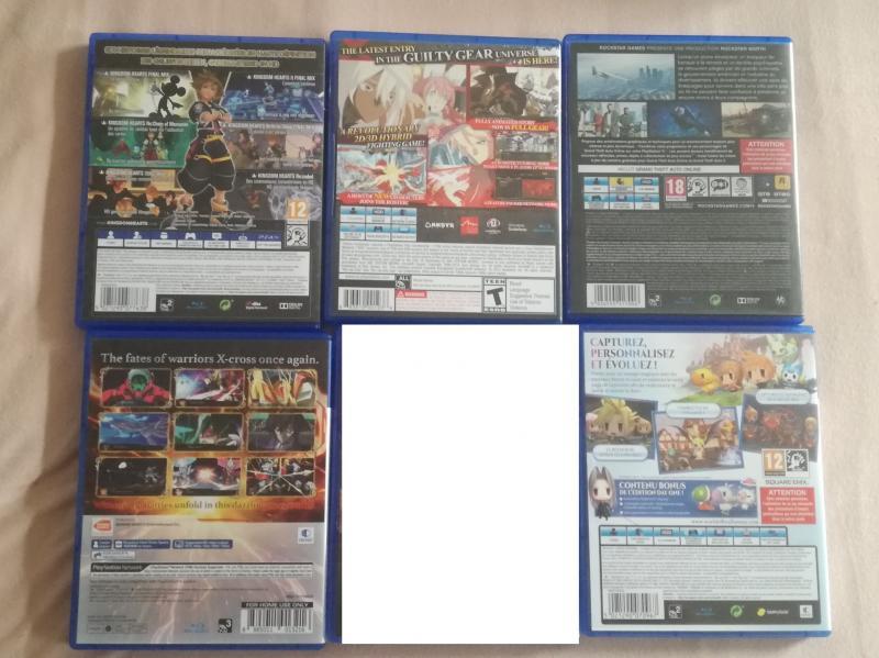 [VDS] Collectors ps4, Collectors Xbox One, jeu Breath of the wild WiiU.... WA5LZ