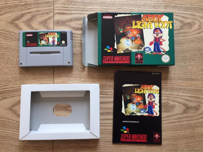 [EST] Eric Cantona, Elite et Firehawk complets sur NES + Ardy light foot Mint XEaKo