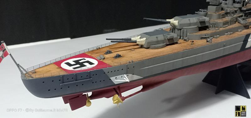 Tamiya Bismarck 1/350 par Guillaune.B ( montagemaquettefr) XWKWR