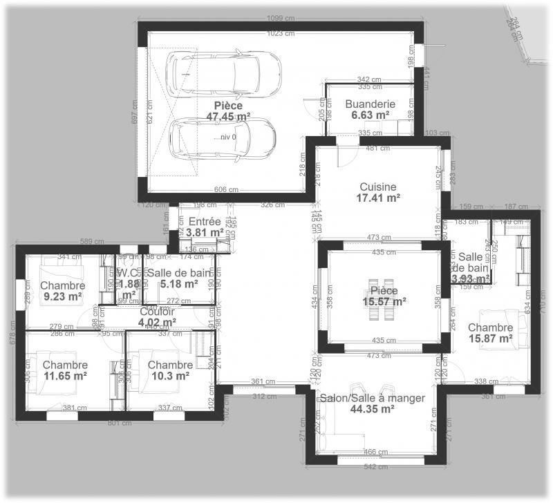 Modele De Maison Maison Pro Ecotm Patio Presente 9