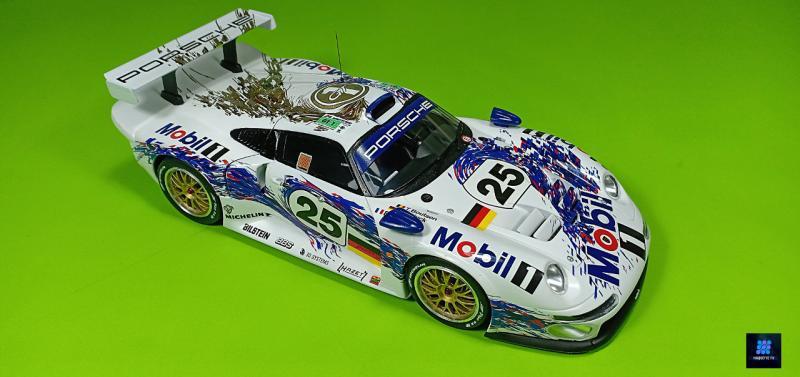Tamiya Porsche 911 Gt1 Par guillaume.b allias maquette tv Y0Dxe