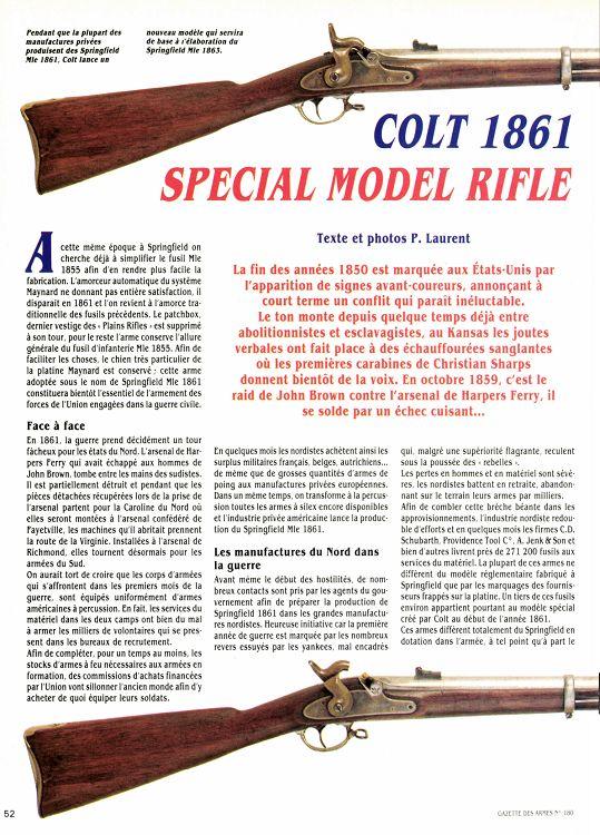 Fusil Colt modèle 1861 Y84Yb