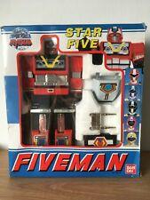 La gamme de jouets Fiveman - Bandai YAPEN