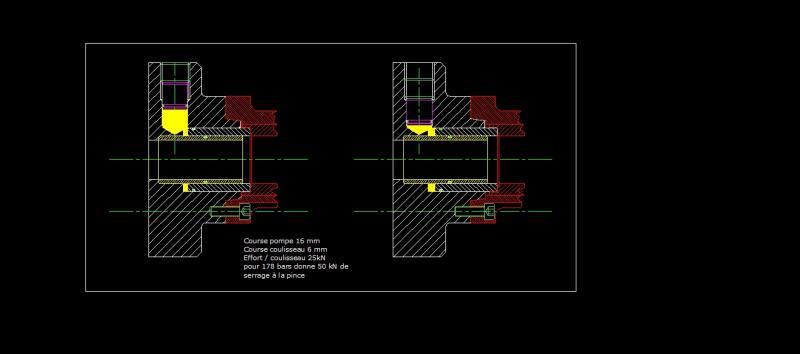 Projet de fabrication d'un verin hydraulique pour mandrin à pinces YZyKD