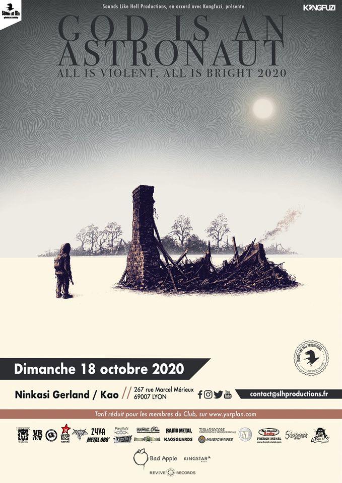 GOD IS AN ASTRONAUT [Lyon - 69] > 18-10-2020
