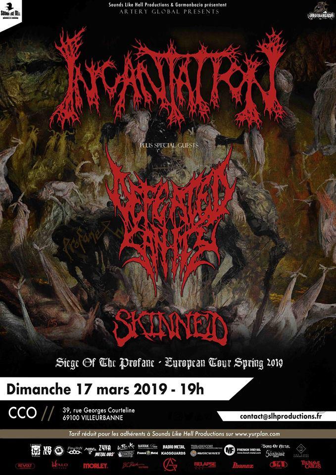 INCANTATION [Lyon - 69] > 17-03-2019