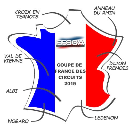 Circuit Val De Vienne Calendrier 2019.Cdf2019 Coupe De France Des Circuits 2019 Ffsca