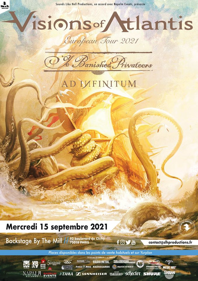 VISION OF ATLANTIS [Paris - 75] > 15-09-2020