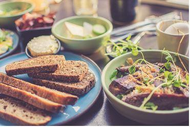 Repas stage cuisine saine