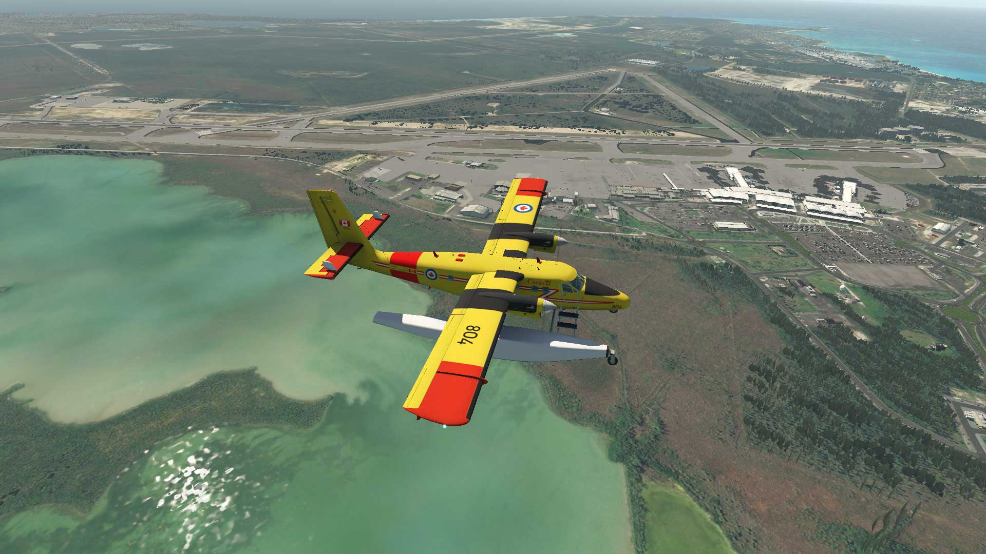VFR in Nassau - X-Plane 11 Screenshots - X-Plane Org Forum