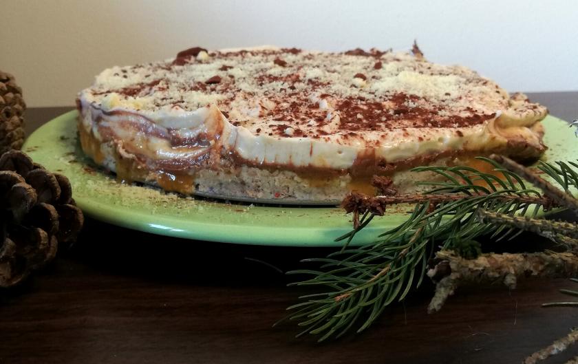 Gâteau de Noël anniversaire layer cake vegan facile