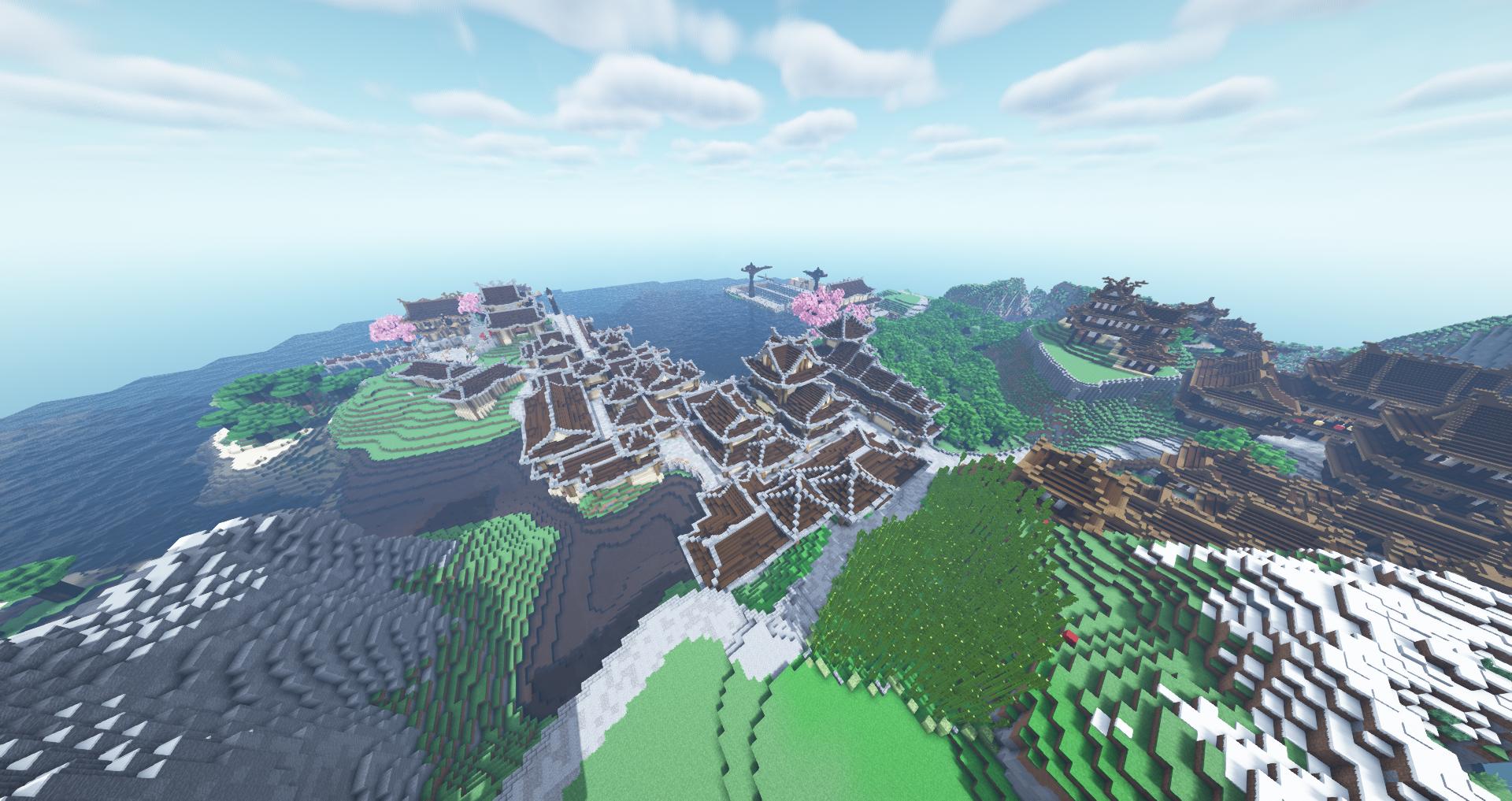 Hoshishima Minecraft Map