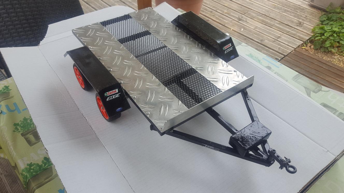Fabrication remorque plateau à suspension ou balancier 9aKWg