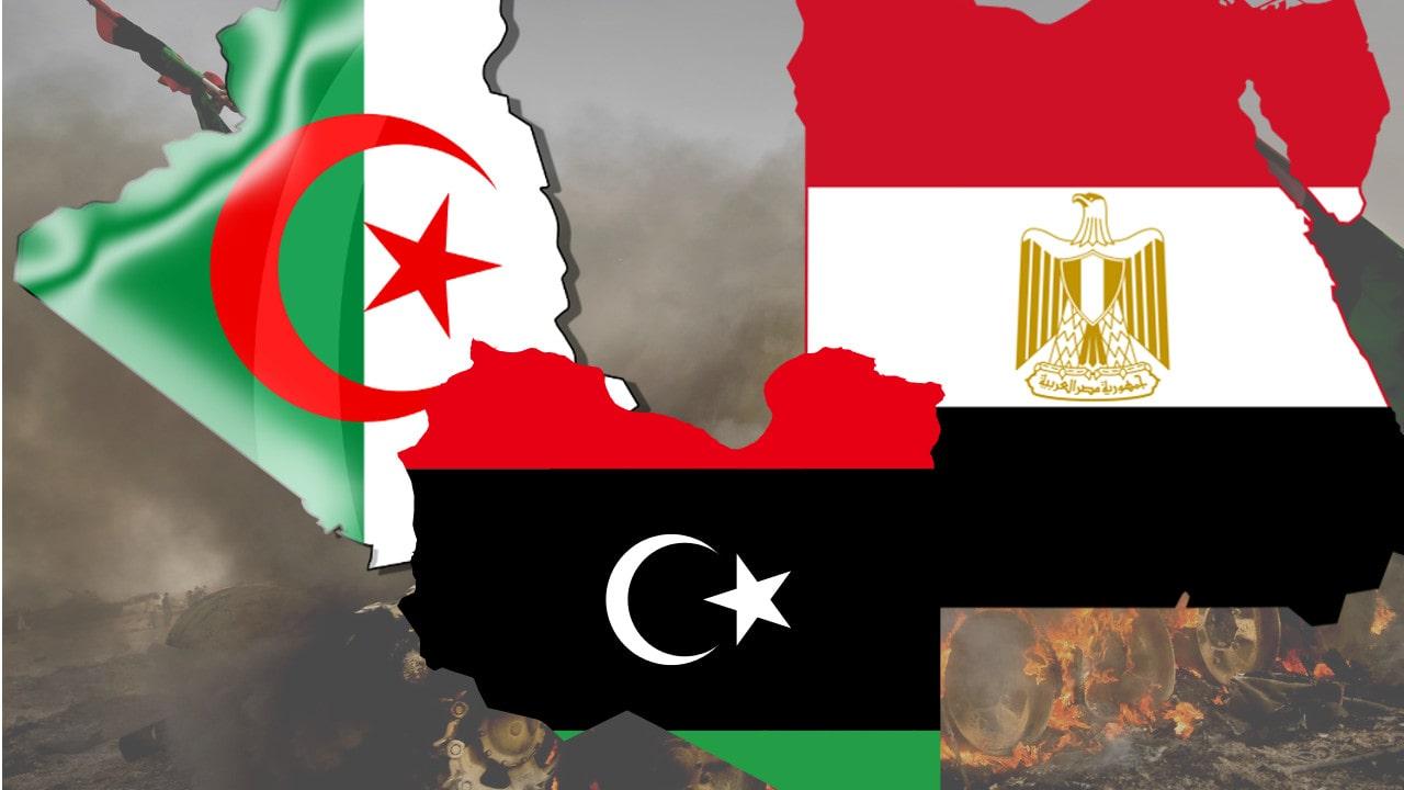 الموقف الدفاعي للجزائر إتجاه الأزمة الليبية