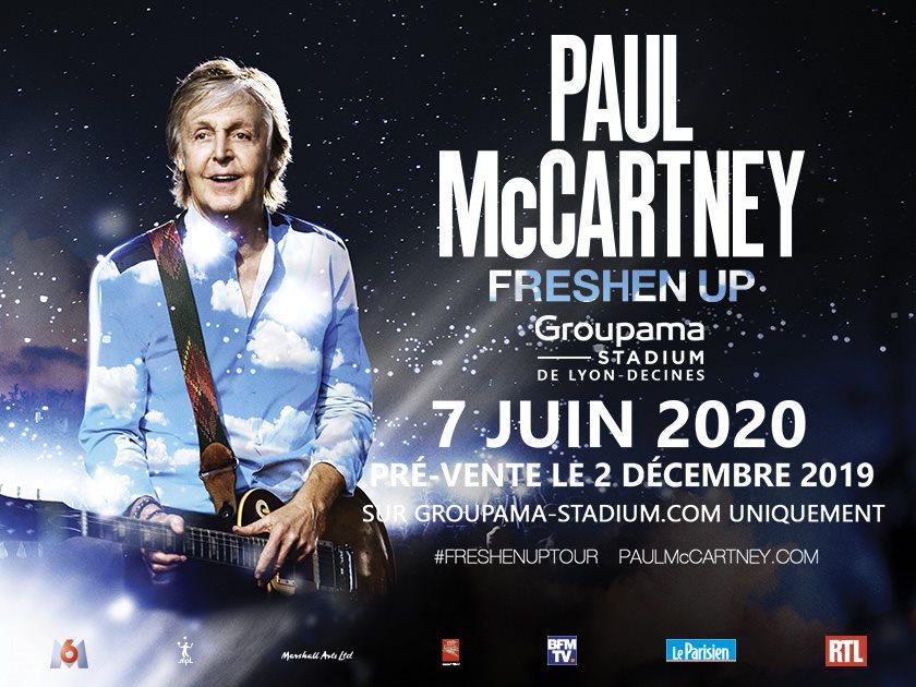 PAUL MCCARTNEY [Lyon-Décines - 69] > 07-06-2020