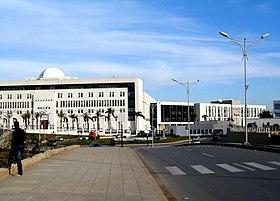 Siège du Ministère des Affaires Etrangères à Imate