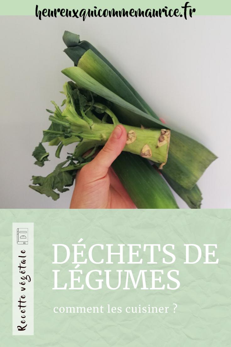 Comment cuisiner les restes de légumes ?