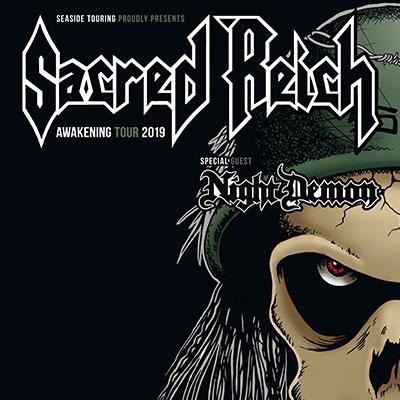 SACRED REICH [Lyon - 69] > 20-11-2019