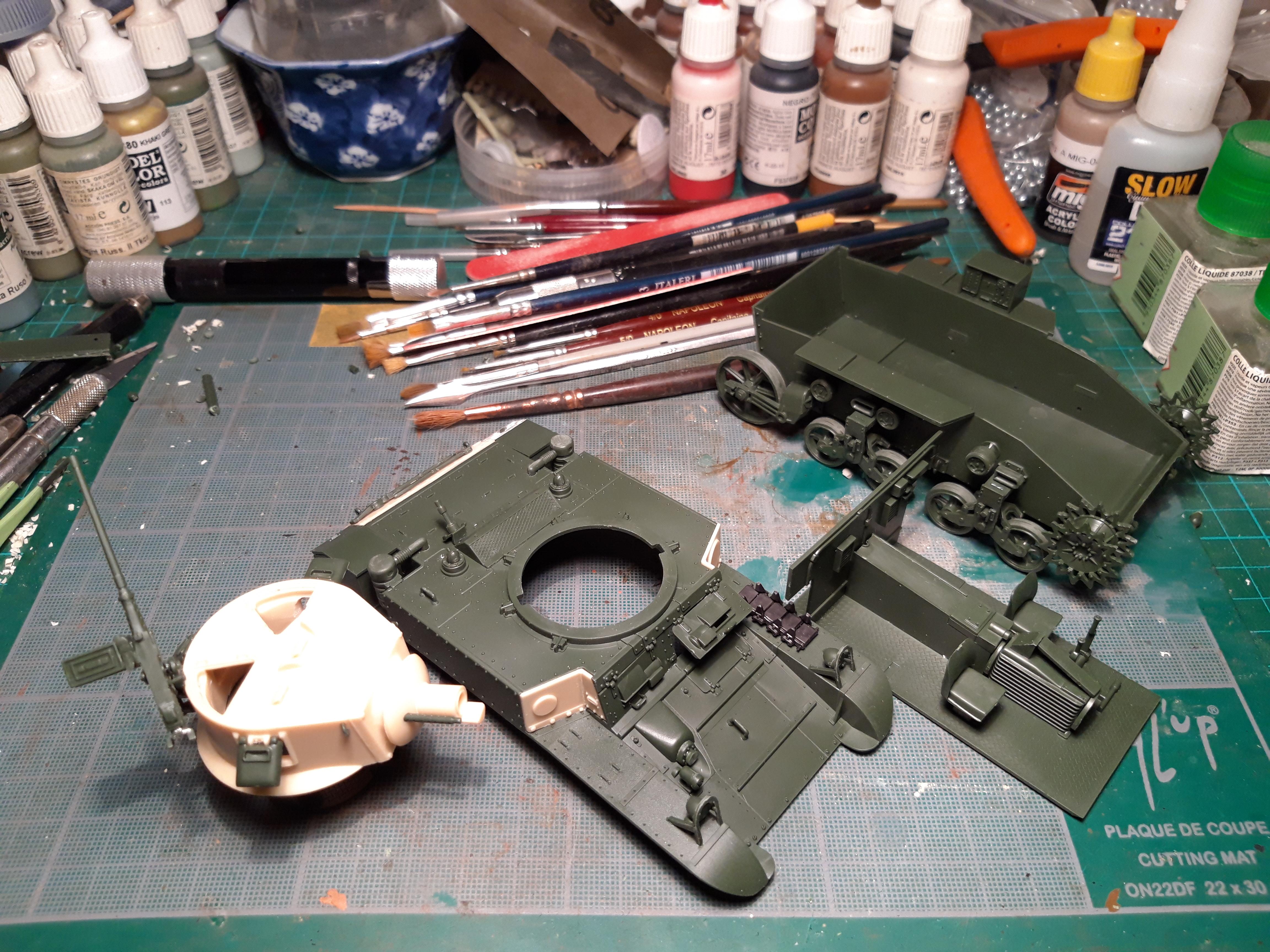 """ACADEMY 1/35 M3A1 STUART """"USMC SATAN"""" DYV3X"""