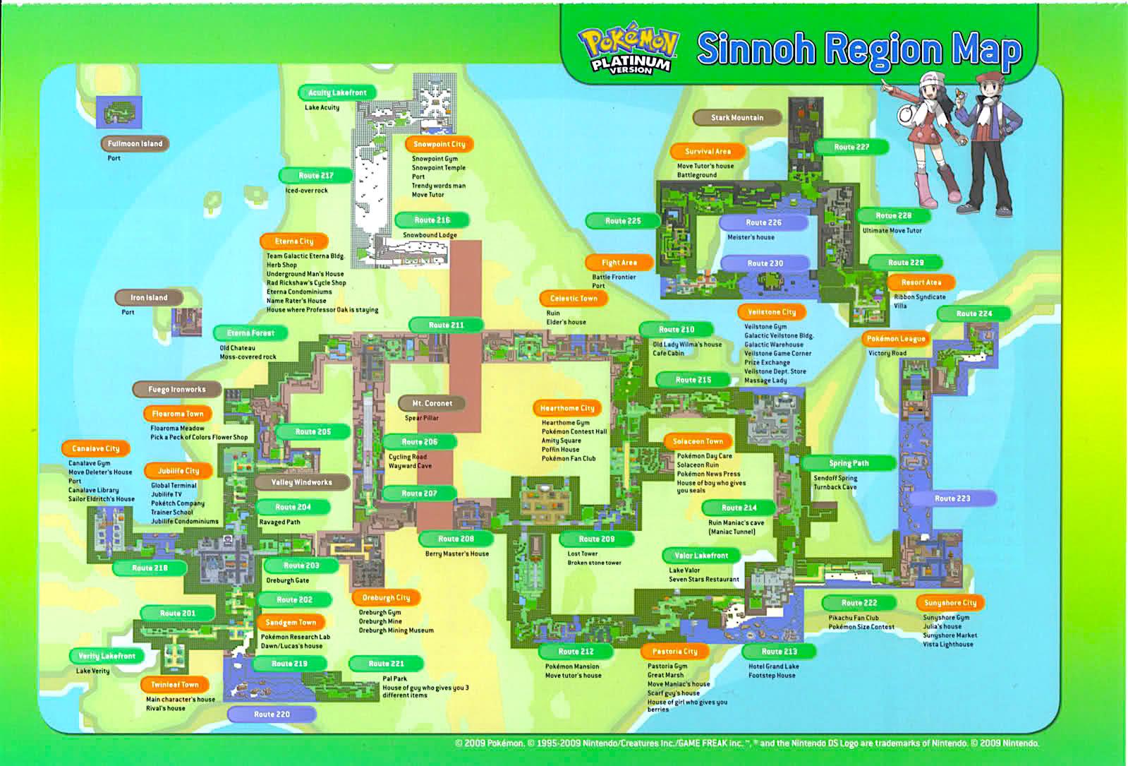 Staff Guides   ▻Complete Sinnoh Walkthrough!◅ | Pokemon