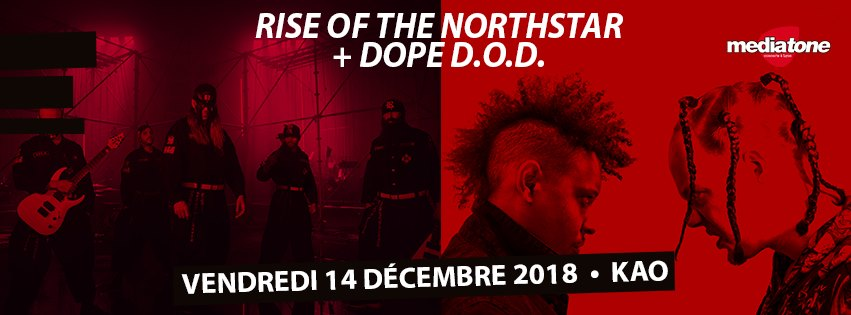 RISE OF THE NORTHSTAR [Lyon - 69] > 14-12-2018