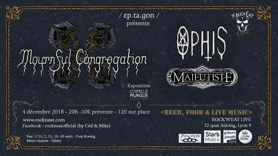 MOURNEFUL CONGREGATION [Lyon - 69] > 04-12-2018