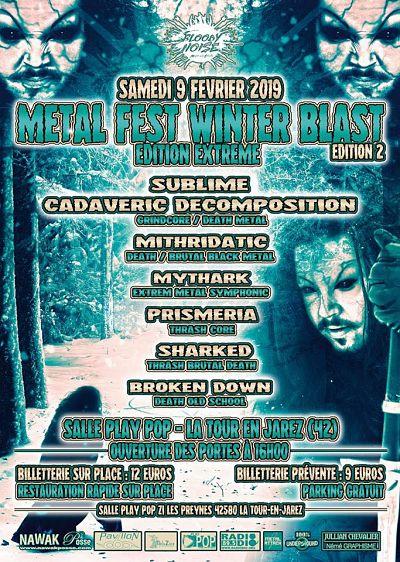 METAL FEST WINTER BLAST [La Tour en Jarez - 42] > 09-02-2019