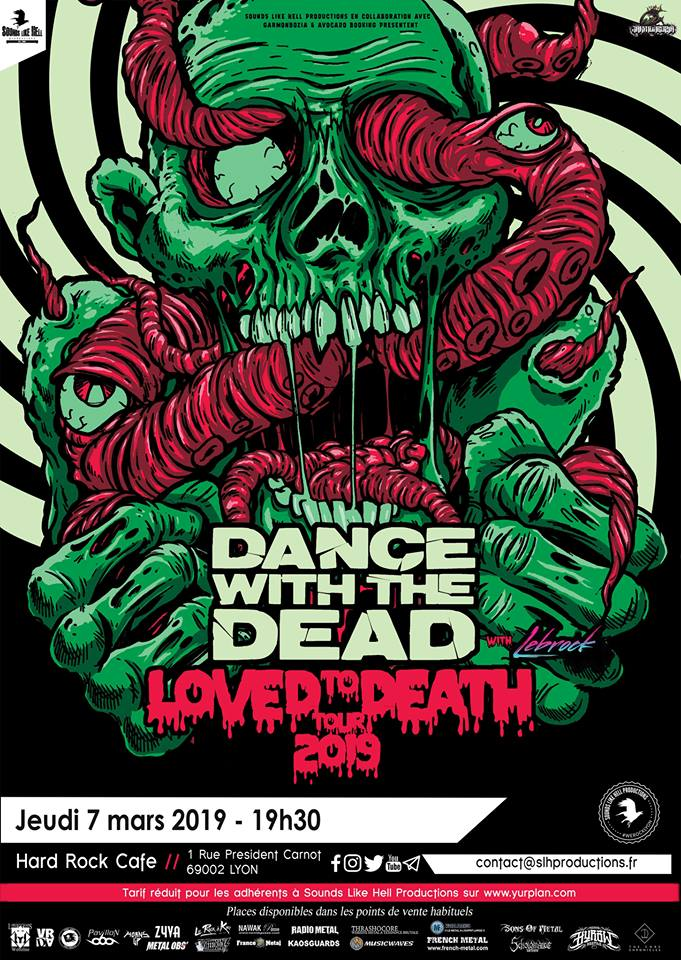 DANCE WITH THE DEAD [Lyon - 69] > 07-03-2019