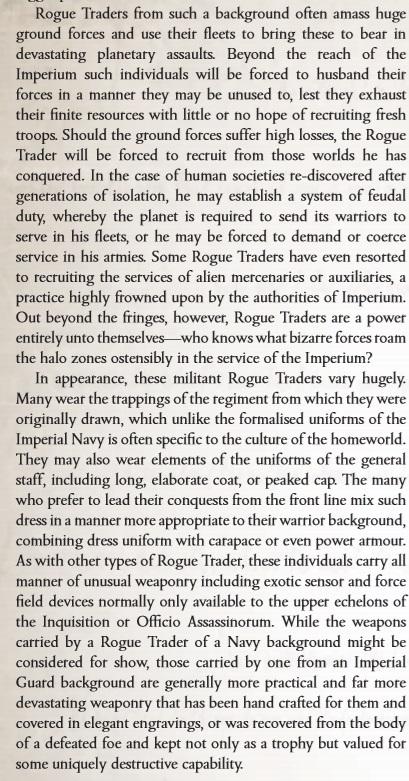 Rogue Traders G5XXp