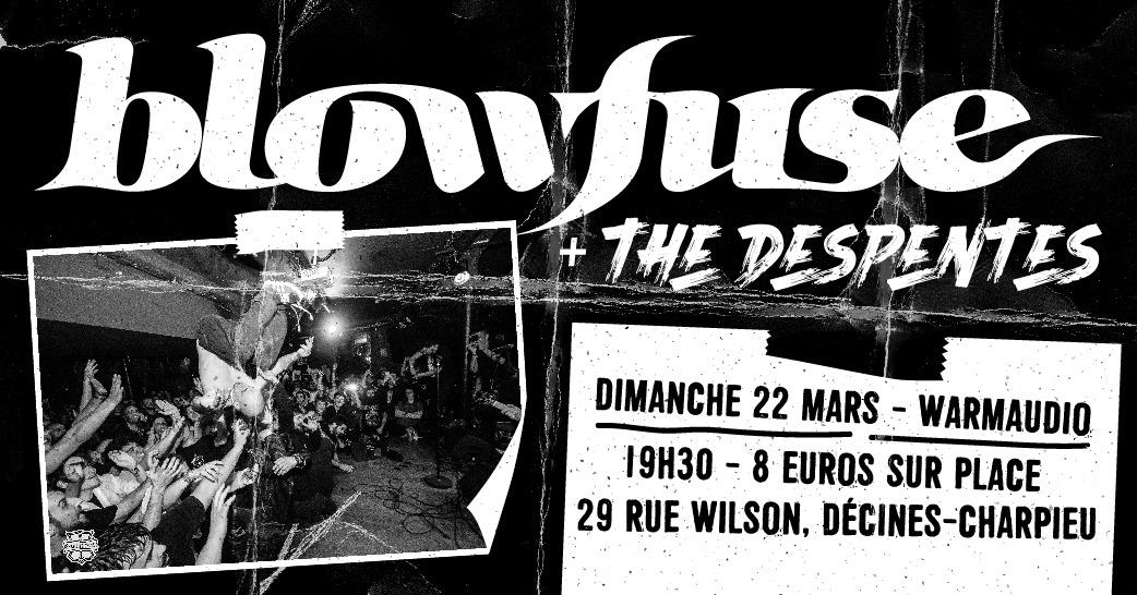 BLOWFUSE [Décines - 69] > 22-03-2020