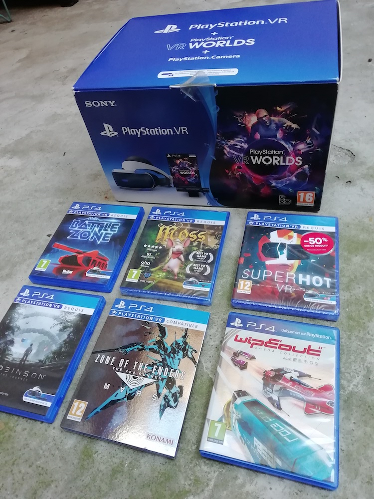 Pack PSVR, PS2 FF12 Complet, jeux PS1, 2, 3, 4, Vita, PSP GEbq1
