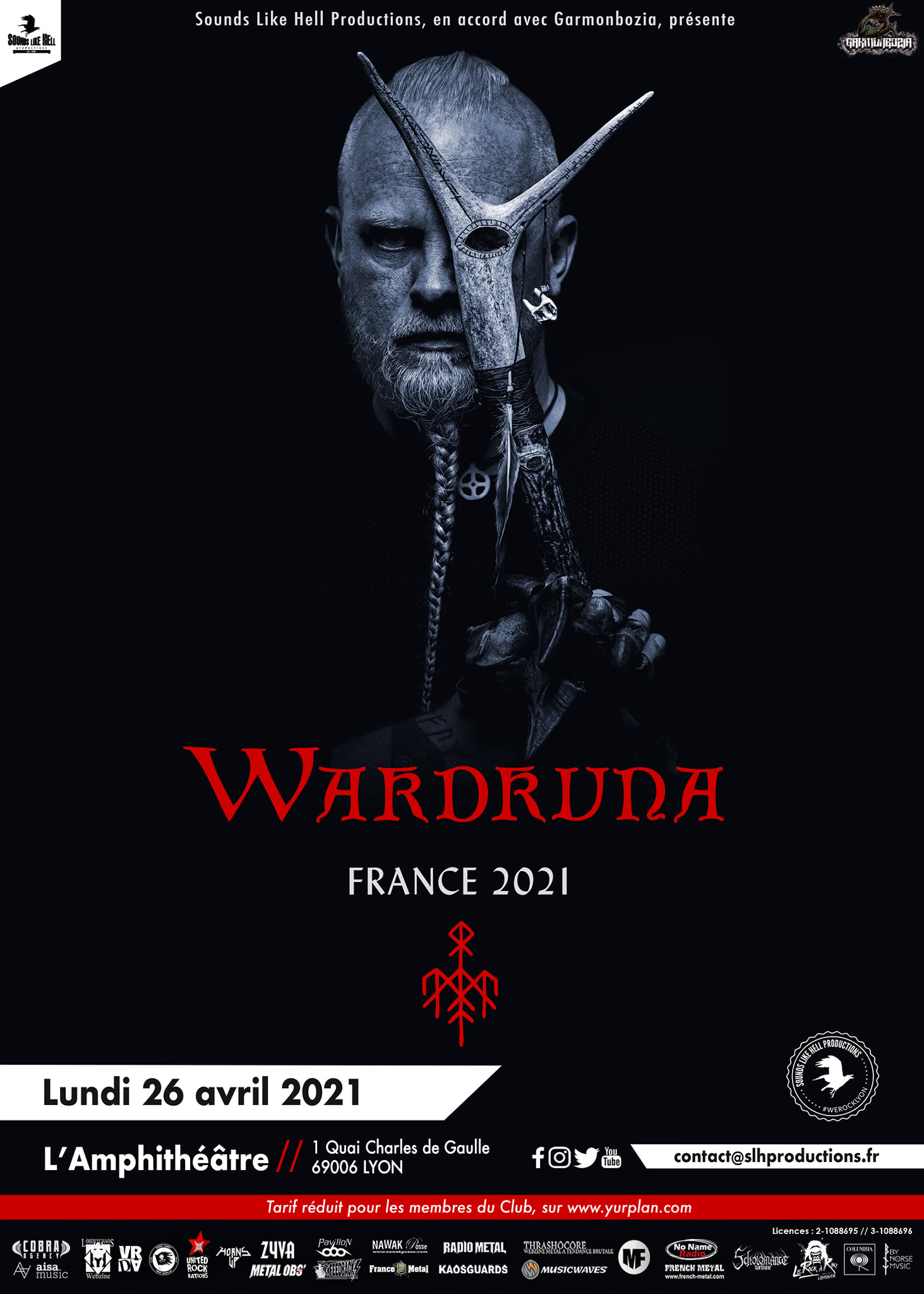 WARDRUNA [Lyon - 69] > 26-04-2021