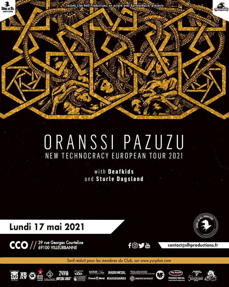 ORANSSI PAZUZU [Lyon - 69] > 17-05-2021