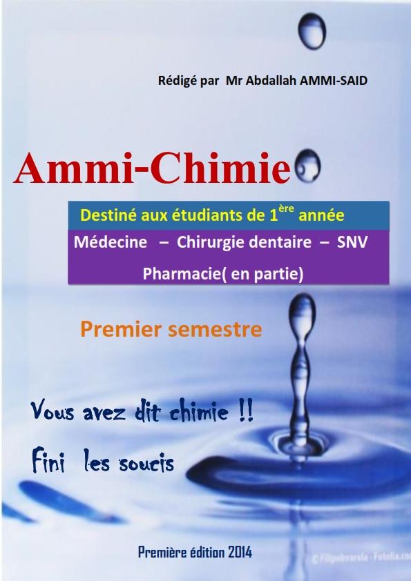 CHIMIE GRATUIT AMMI TÉLÉCHARGER PDF