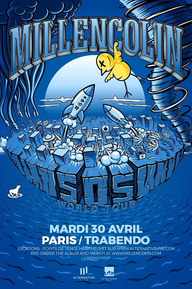 MILLENCOLIN [Paris - 75] > 30-04-2019