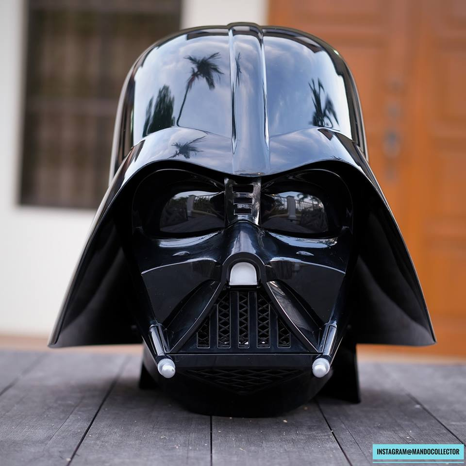 Casque Black Serie Vader 1:1 JkrZo
