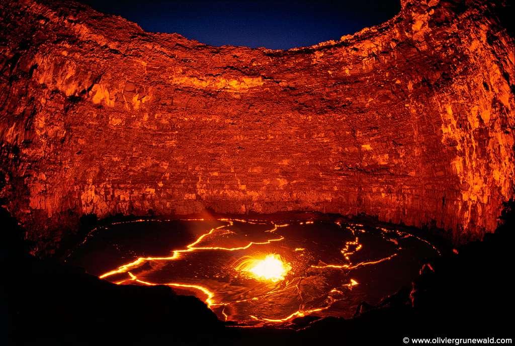 Le Lac de lave Erta Ale