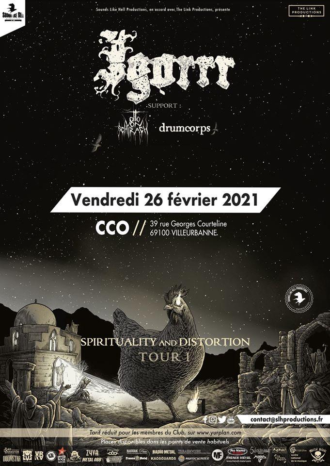 IGORRR [Lyon - 69] > 26-02-2021