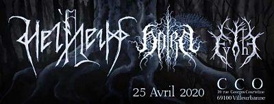 HELLHEIM, HORN, EVOHÉ [Lyon - 69] > 25-04-2020