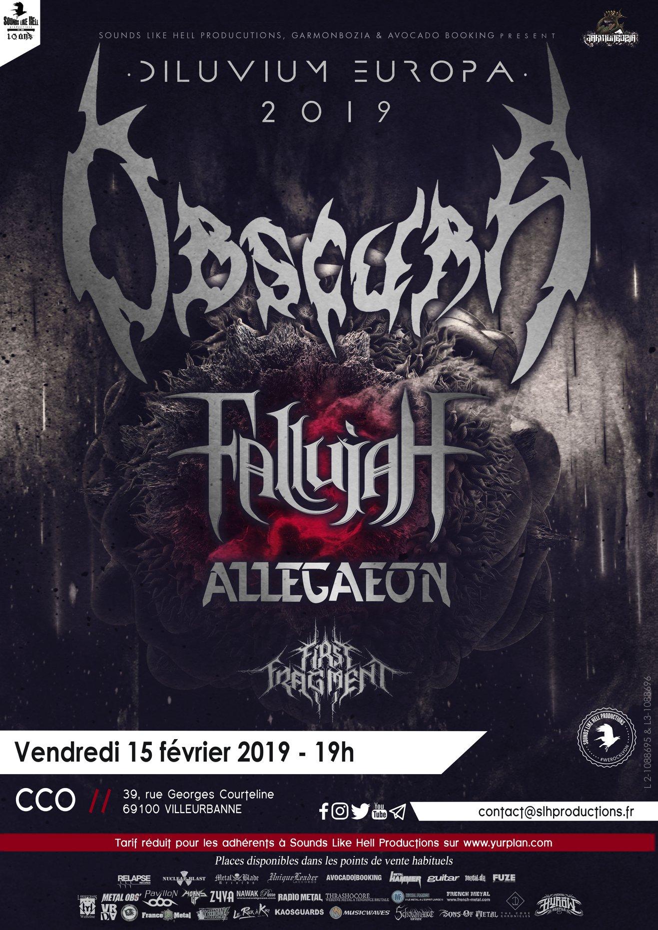 OBSCURA [Lyon - 69] > 15-02-2019