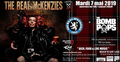 THE REAL MCKENZIES [Lyon - 69] > 07-05-2019