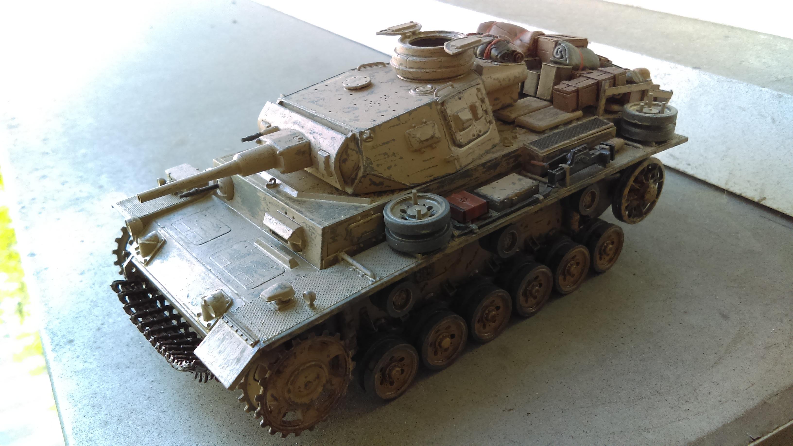 PANZER III J 5 cm KURTZ D.A.K 1/35 REVELL KwvGv
