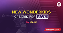 New Wonderkids 2020 v1.0