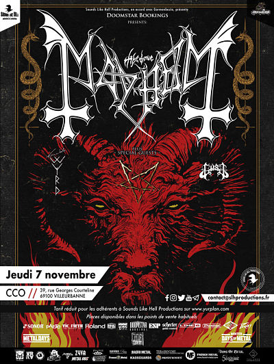 MAYHEM [Lyon - 69] > 07-11-2019