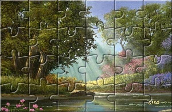 "N° 19 PFS "" Effet Puzzle "" LdkjY"